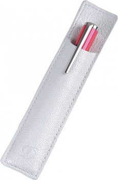 S.T. Dupont Mini Liberte Pen Slot – Grained White Leather 92028